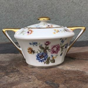 Haviland Limoges vintage sugar bowl